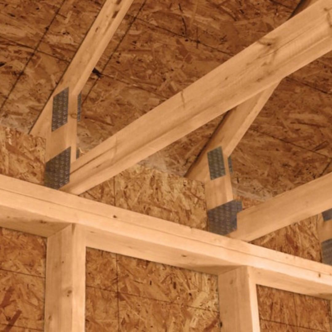 With Conventional Trusses You Are Unlikely To Have Enough Height Between The Top Plate And The Roof Deck For Adequate Attic Insulation And Roof Ventila Materiaux