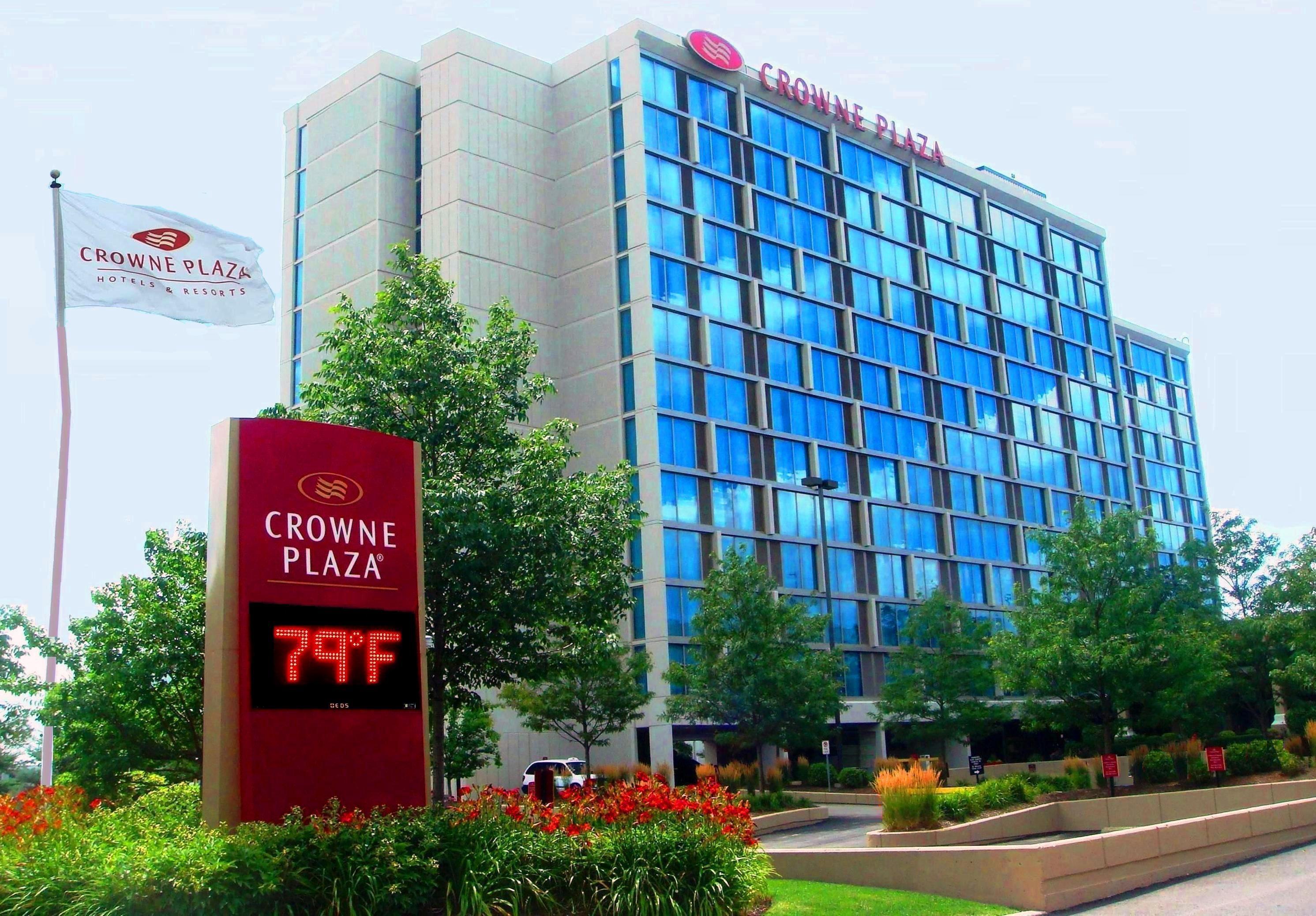 The Crowne Plaza Hotel Chicago O Hare Uçağınız Mı Kaçtı Burası International Hava Alanına Yakın Kaliteli Bir Tercih