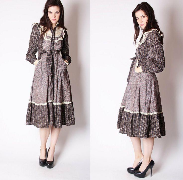 28d2e8937ff Image result for 1970s prairie dress
