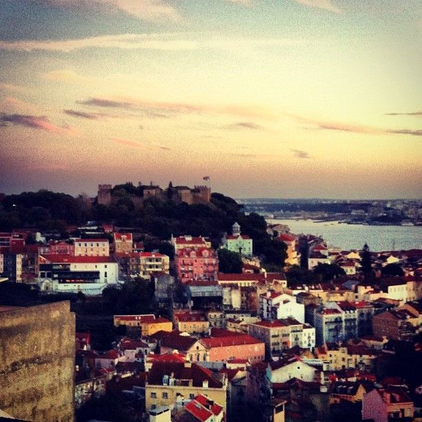 Miradouro Da Senhora Do Monte Lisbon Scenic Views Natural Landmarks