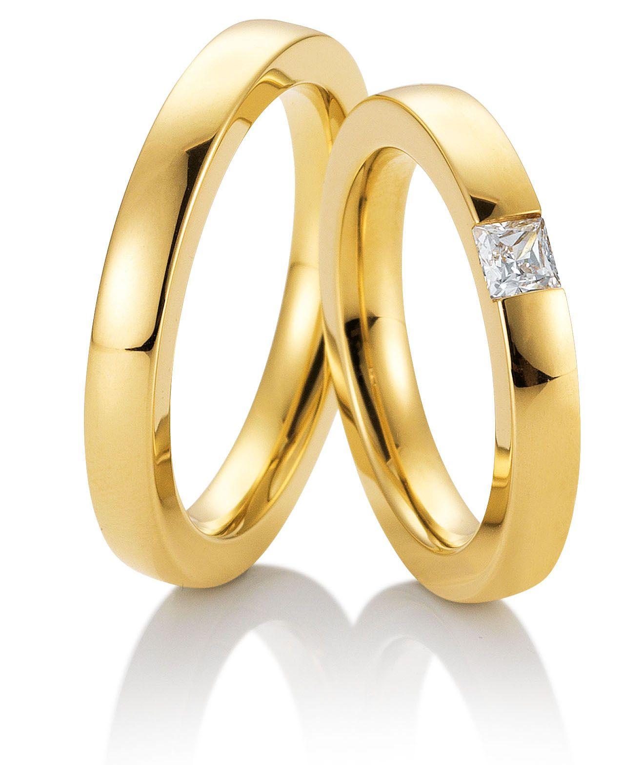 Eheringe Trauringe 49 81561 Gelbgold 585 Gold Jewelry Jewels