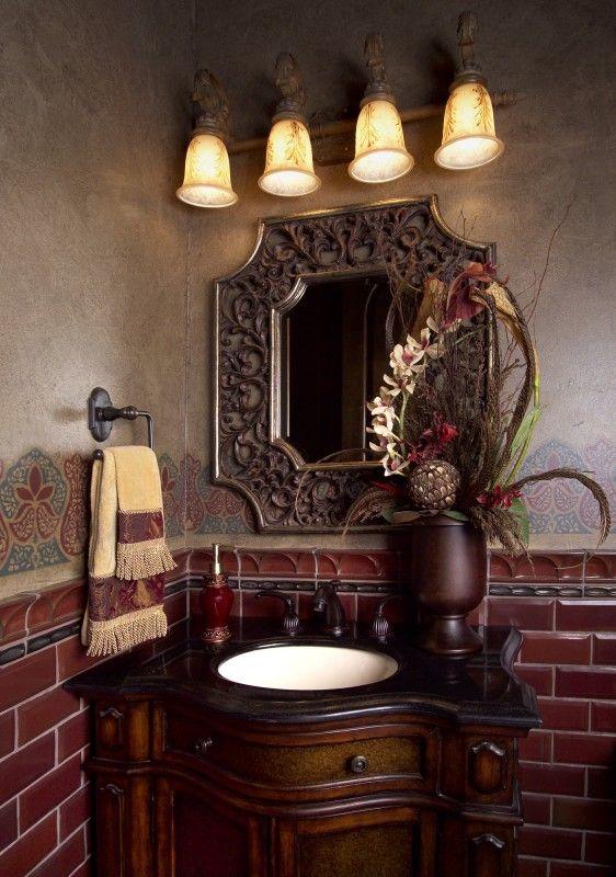 idea - Mirror Tile Castle Ideas