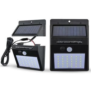 Solar Lights Outdoor 12 20 30 48 Led Super Bright Pir Motion Sensor 3 Modes Switch Wireless Waterproof Solar Powered Security In 2020 Solar Lights Outdoor Solar Lights Motion Sensor