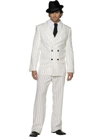 82b5f960a2aaf 1920 Mafia - White pinstripe suit