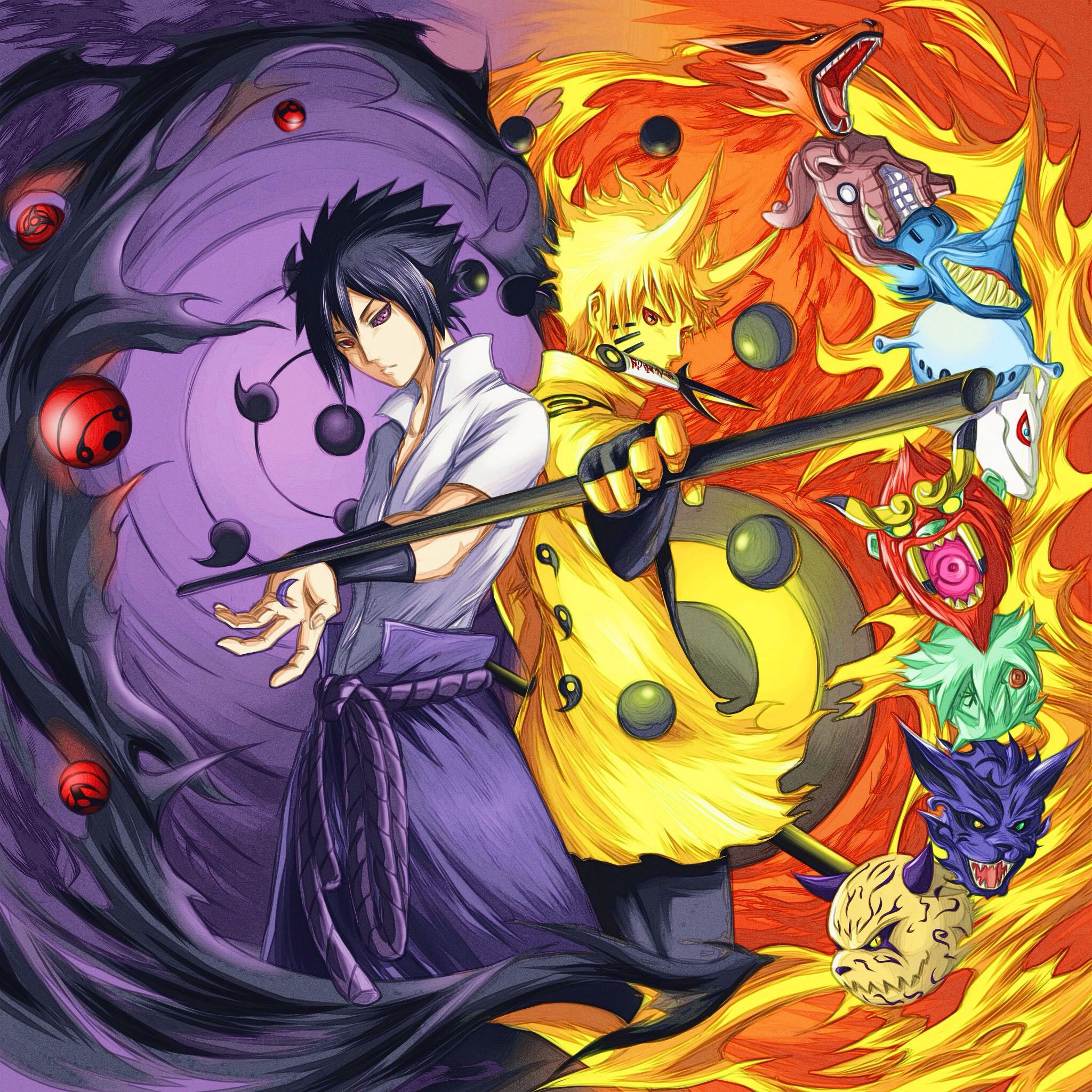 Wallpaper Keren 3d Anime Naruto gambar ke 18