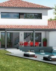 Maison Contemporaine Ambre Terrasse Couverte Construction