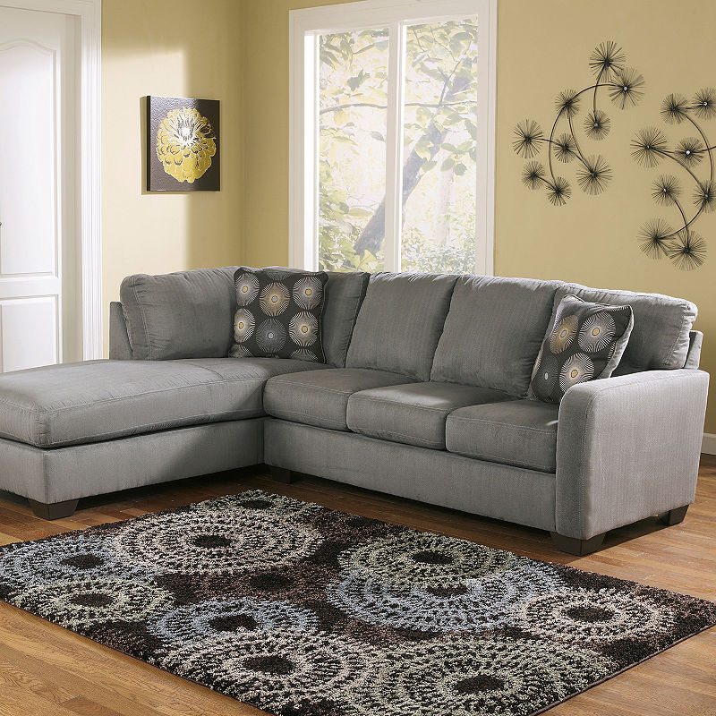 Signature Design By Ashley Zella 2 Pc Sectional Contemporary
