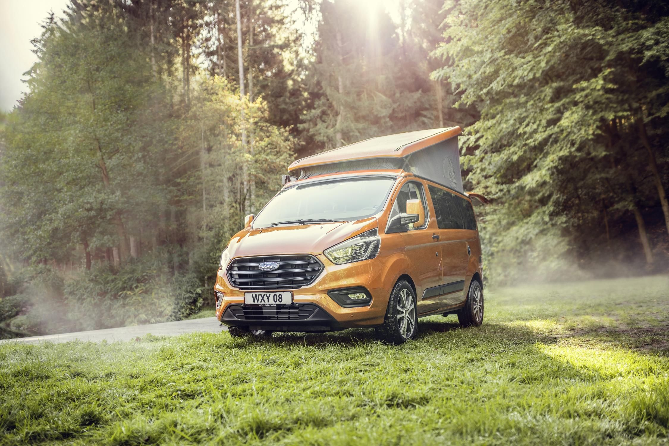 Ford Transit Custom Nugget It S A Camper Van Goes On Sale In The