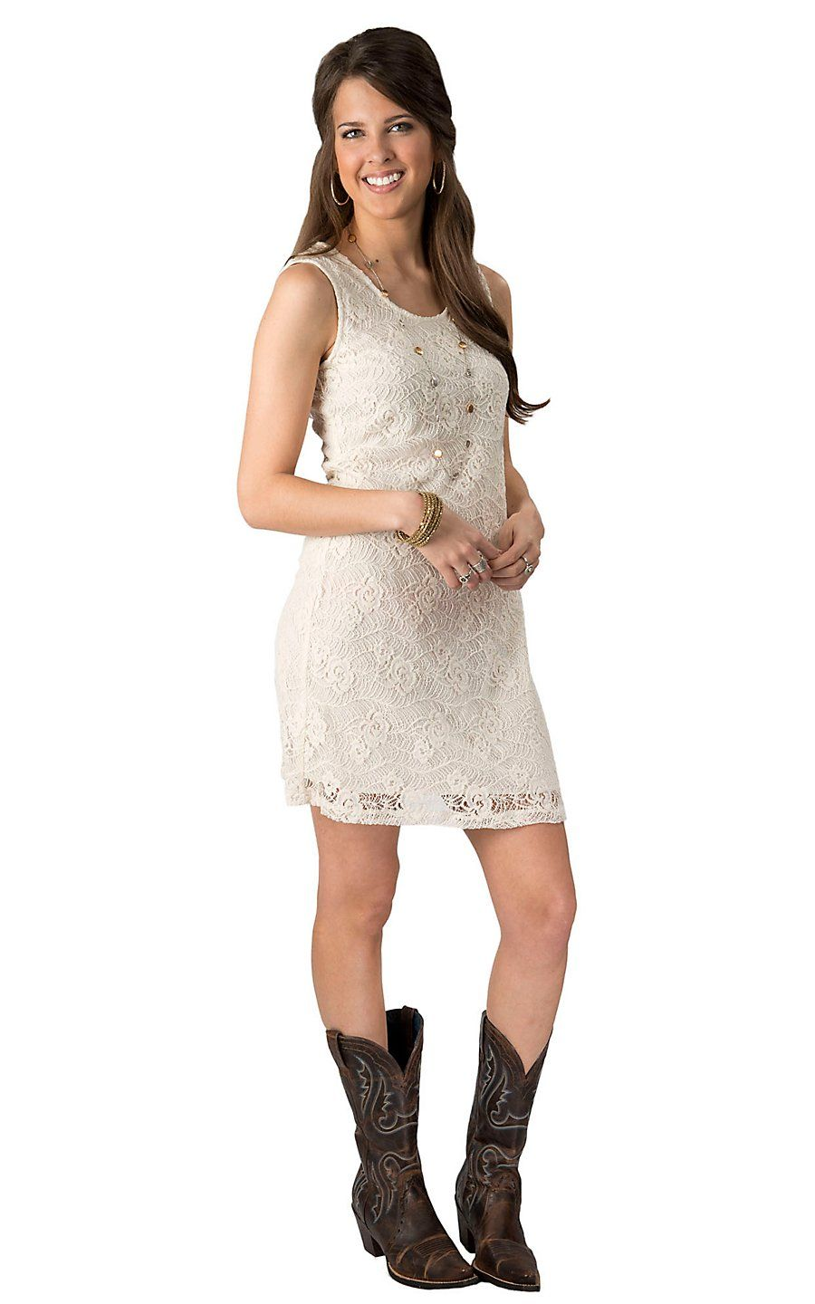 T bleu womenus beige lace sleeveless dress cavenderus boot city