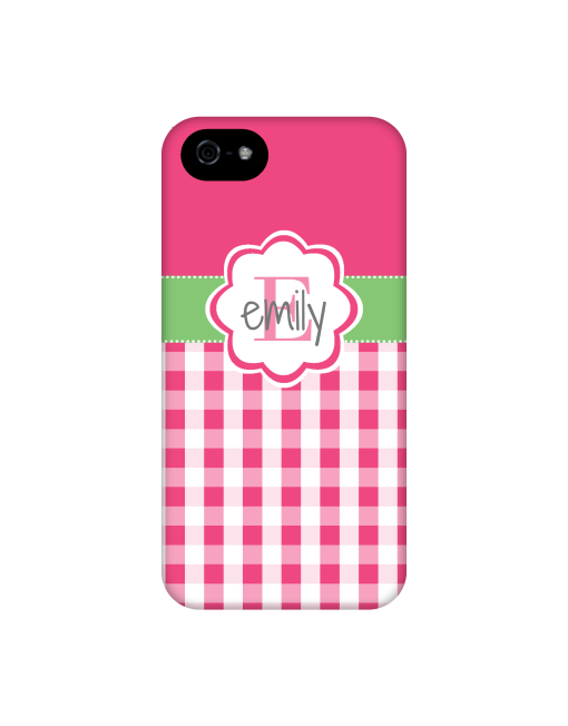 hot pink gingham iphone case #iphone6case #galaxys5case