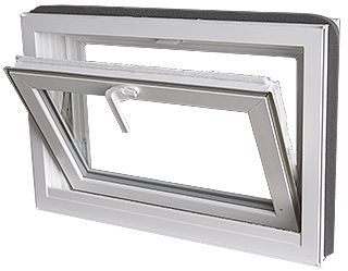 Replacement Vinyl Hopper Windows | Basement Hopper Windows | Window  Wholesalers