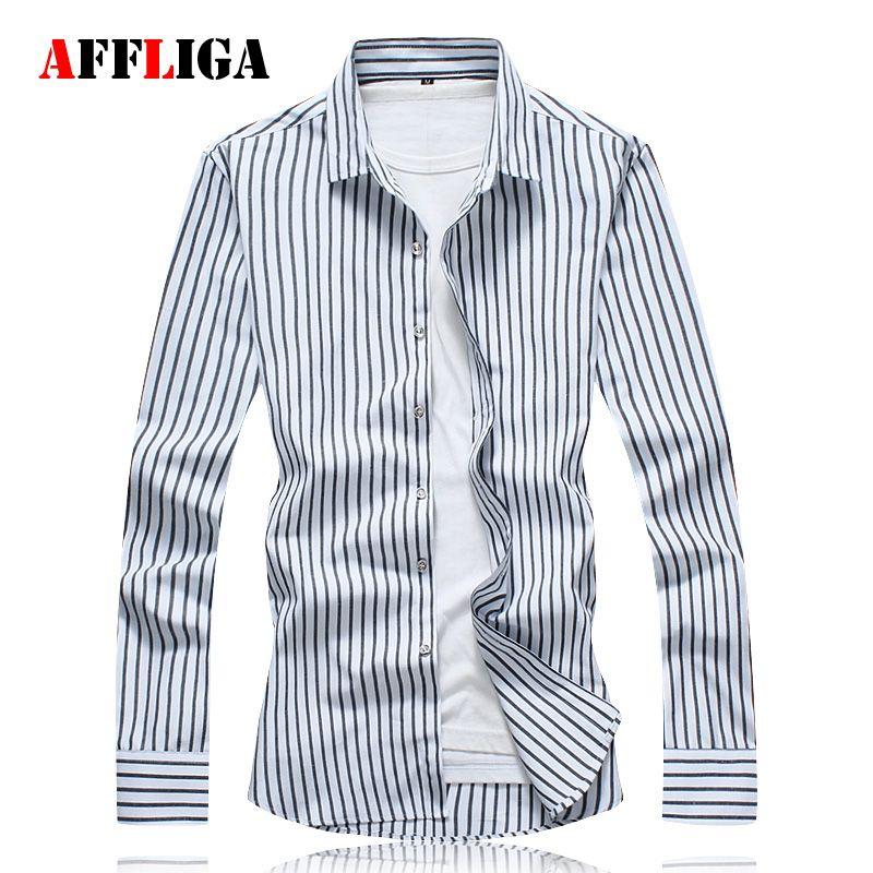 Alion Mens Fashion Pattern Print Casual Long Sleeve Button Down Lapel Shirt 12 L