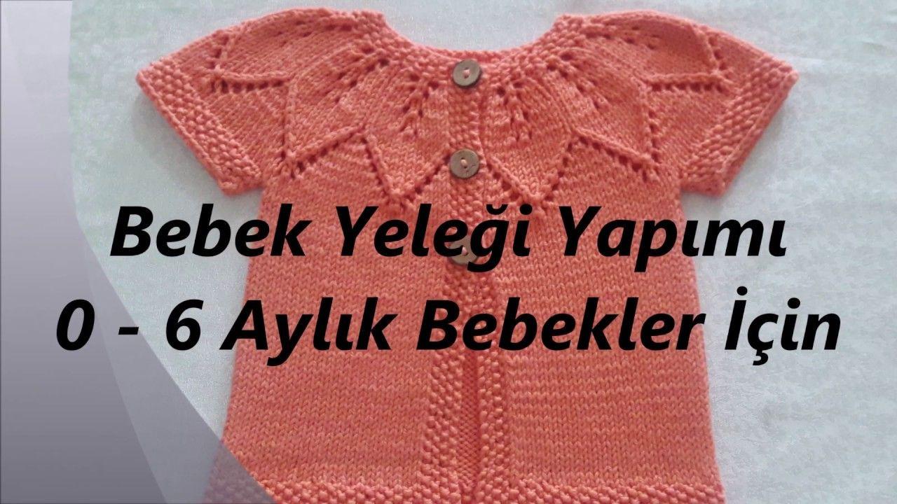 Bebek Yelegi Yaprak Modeli Yakadan Baslamali Baby Version Leaf M Bebek Elbise Ogreticileri Bebek Bebek Kazak Modelleri