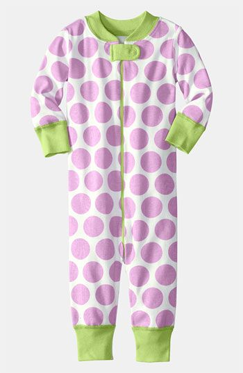 Hanna Andersson Fitted Coveralls (Infant) | Nordstrom
