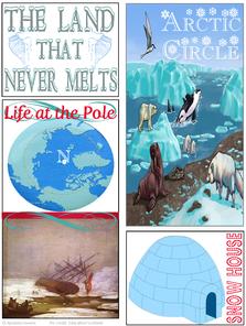 Arctic Region Homeschooling Lapbook Arctic tundra