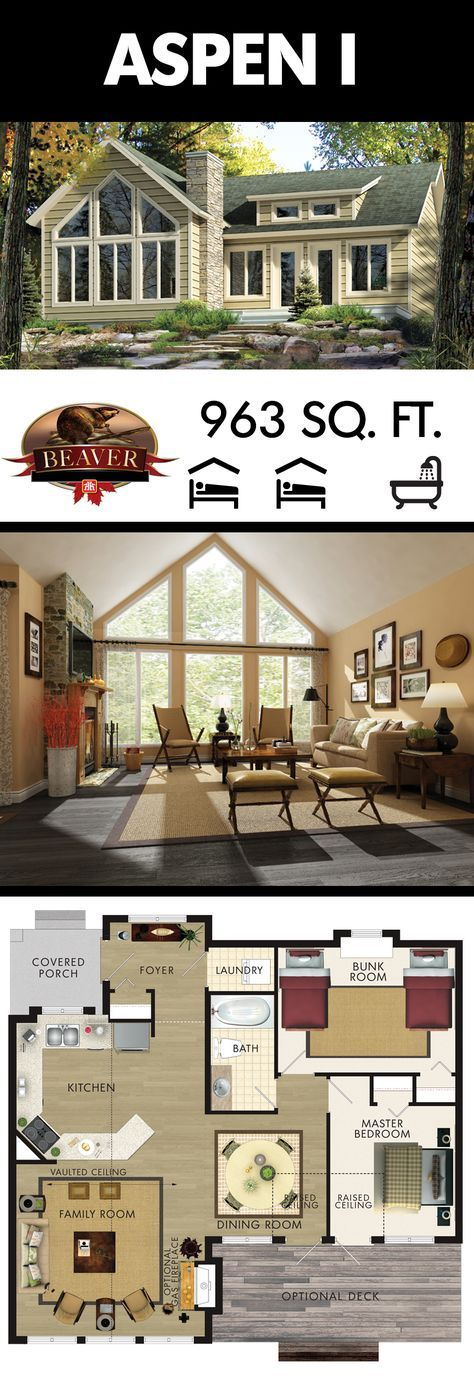 enjoy stunning cottage sunsets from the bright spacious family room of the aspen i model from. Black Bedroom Furniture Sets. Home Design Ideas