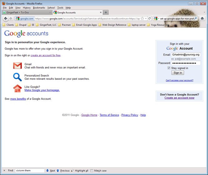 Google Apps: Administrator Gmail Account Login | NCHS | App, Google