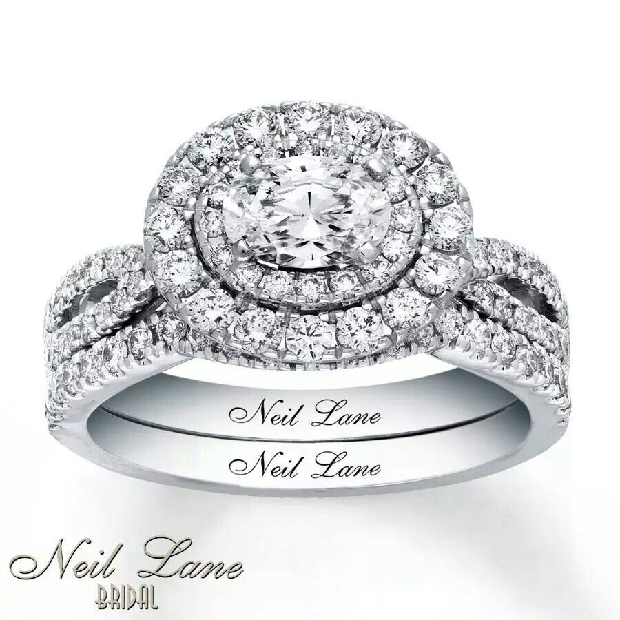 Double Halo Diamond center, 3 band with diamonds. This is