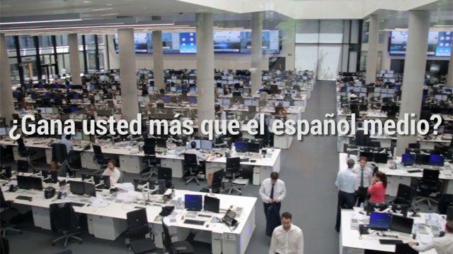 El sueldo más habitual en España asciende a 15.500 euros
