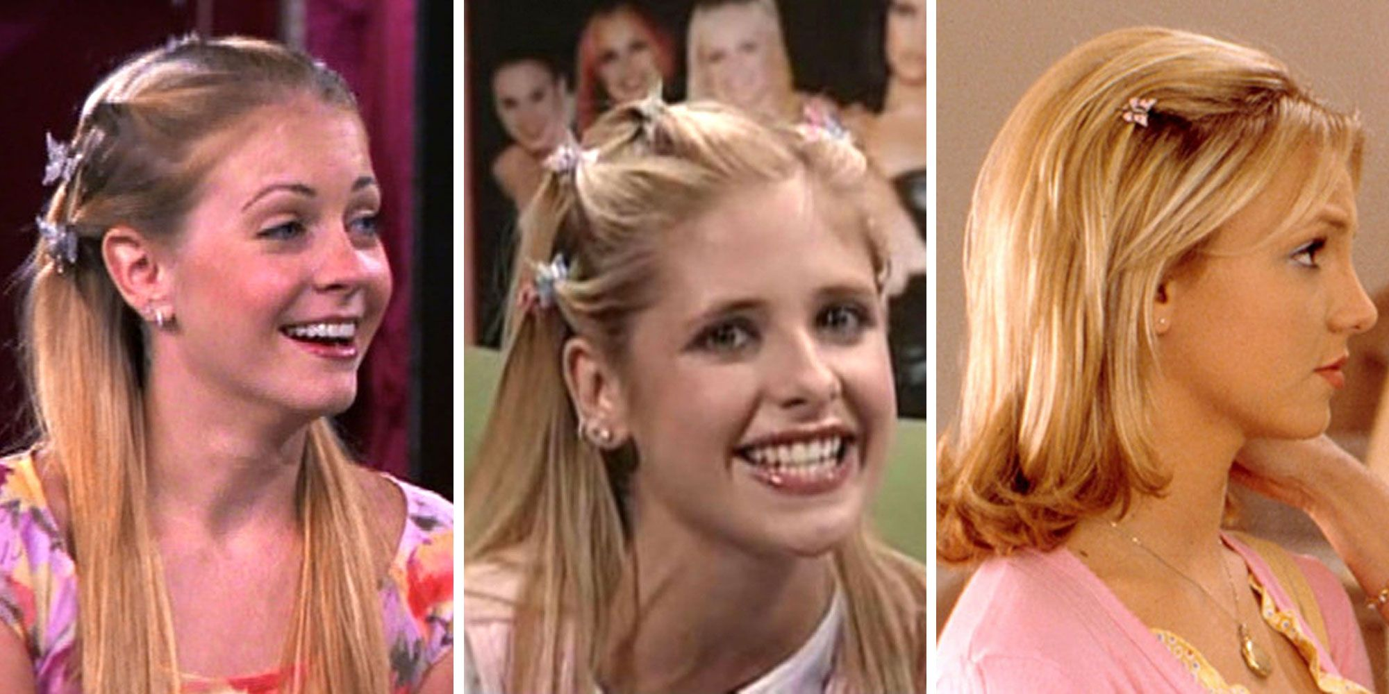 13 Butterfly Clip Hairstyles That Are So Late 90s It Hurts Clip Hairstyles 90s Hairstyles Kids Hairstyles