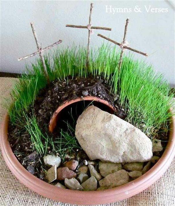 Good Easter Garden Craft Ideas Part - 2: Cute Easter Craft Ideas For Kids