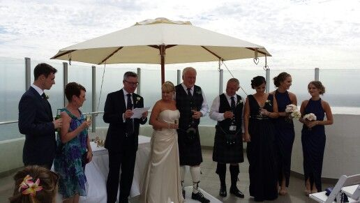 Wedding Party At The Rendezvous Hotel Perth In Scarborough Grand Hotel Perth Wedding Venues Scarborough