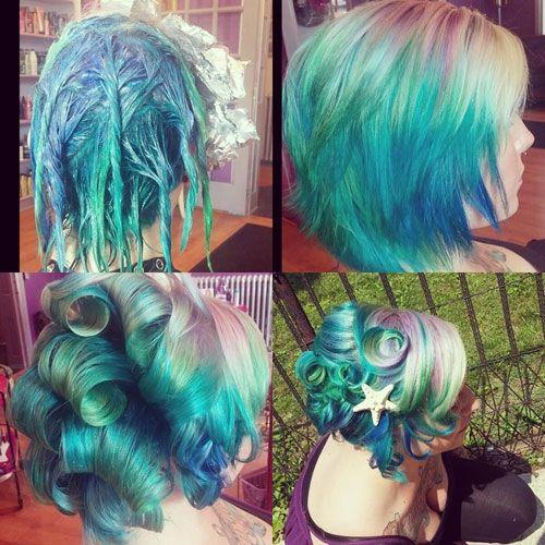 Mermaid Jpg 500 500 Mermaid Hair Color Edgy Hair Rainbow Hair Color