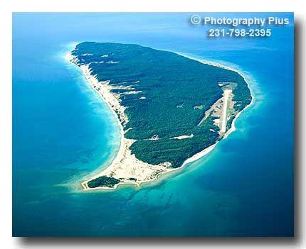 Aerial Photos Of Michigan Islands Aerial Photo Lake Lake Michigan