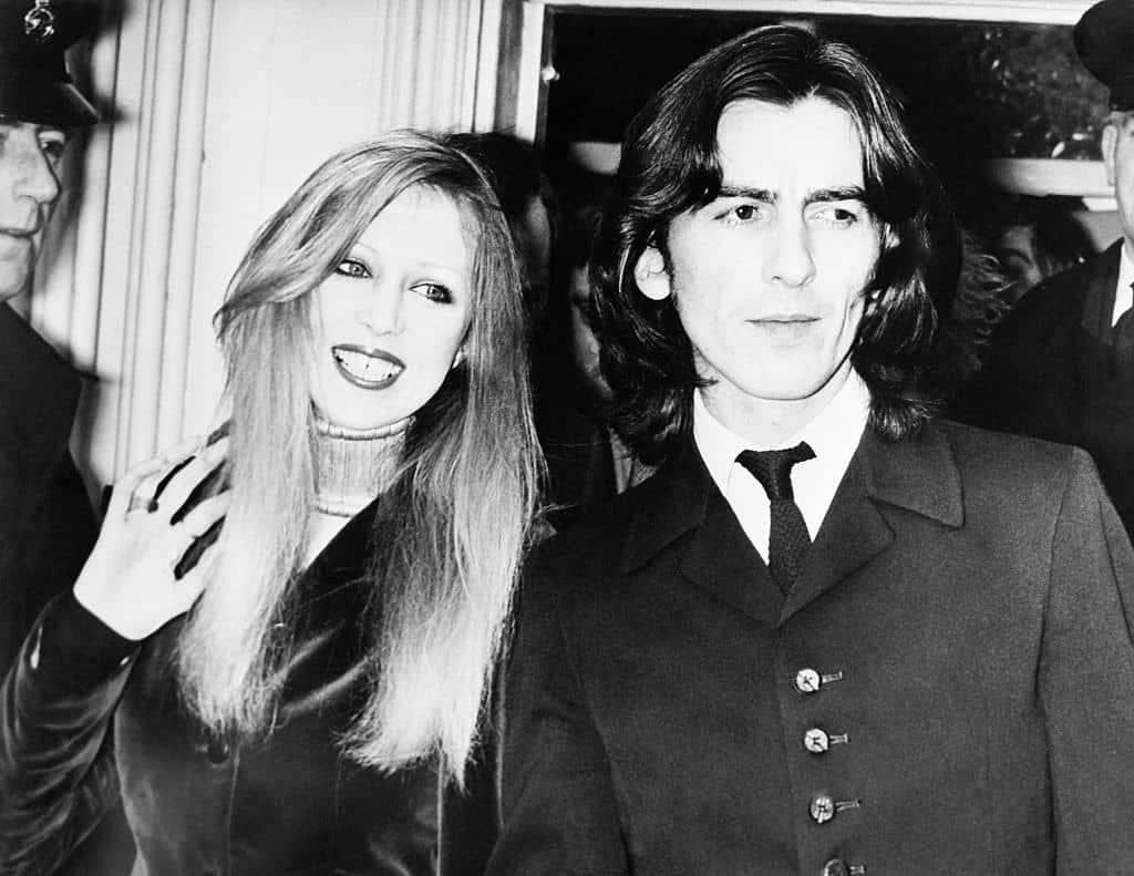 Image result for george harrison and pattie harrison plead guilty images