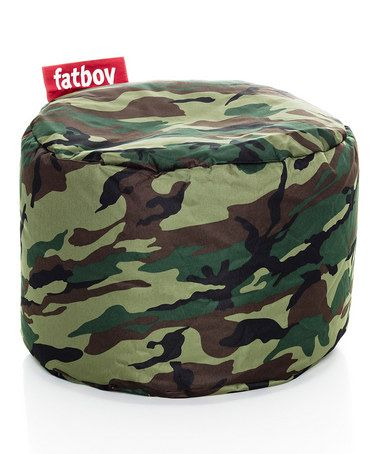 Take A Look At This Camouflage Fatboy Point Beanbag By