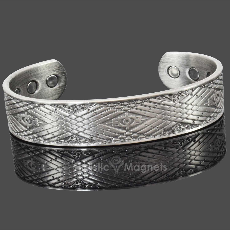 Copper magnetic bracelet for men celtic bracelet healing
