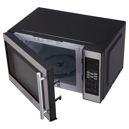 Black Decker 0 7 Cu Ft 700w Microwave Oven Black Em720cpn P Microwave Oven Microwave
