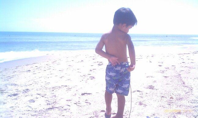 Summer boy.