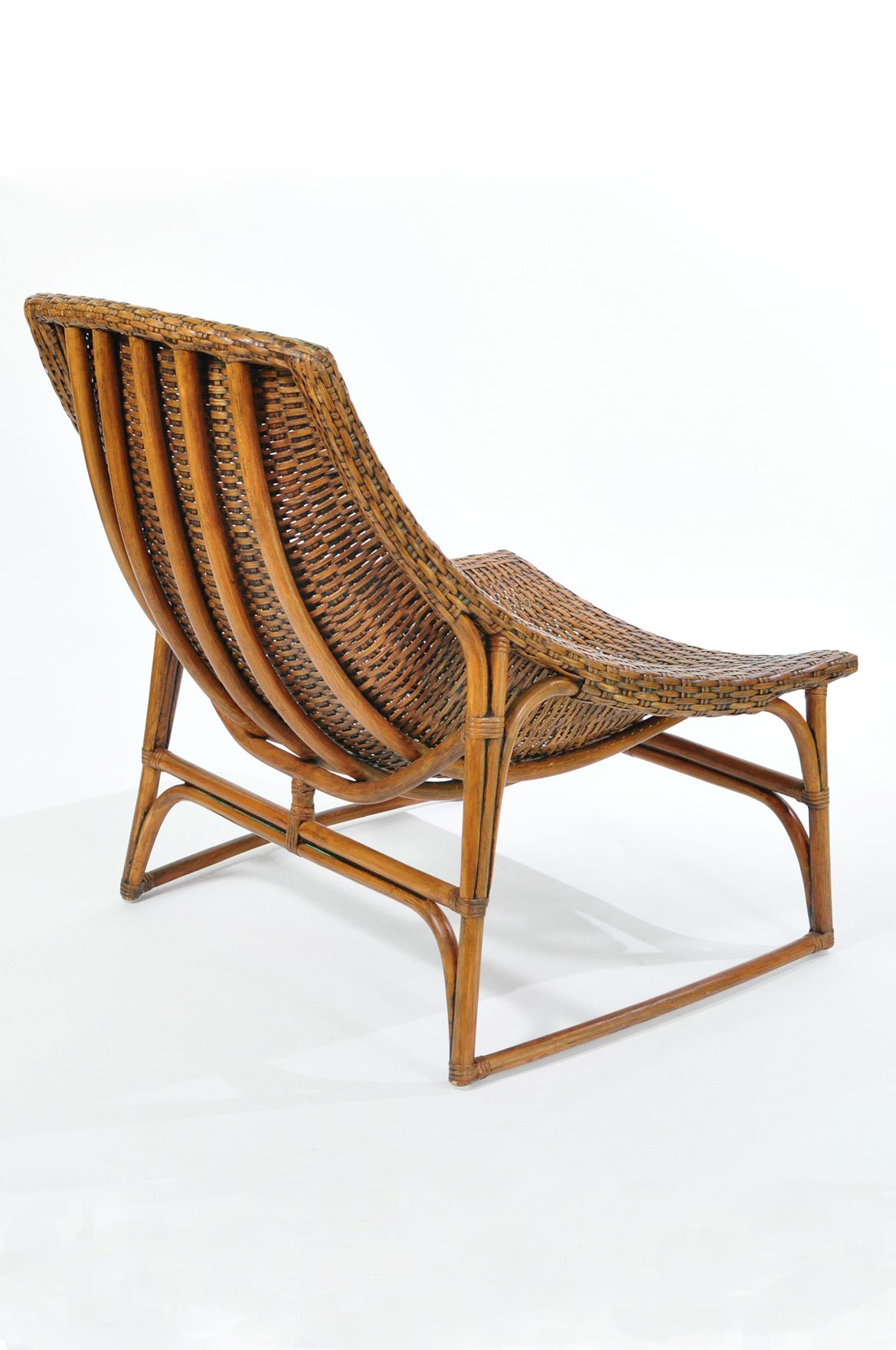 chairs brylanehome oversized rattan wicker recliners whitman chair