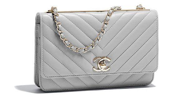 941e519c0ff174 Chanel Chevron Trendy CC WOC | Bags | Chanel woc, Chanel, Chevron bags