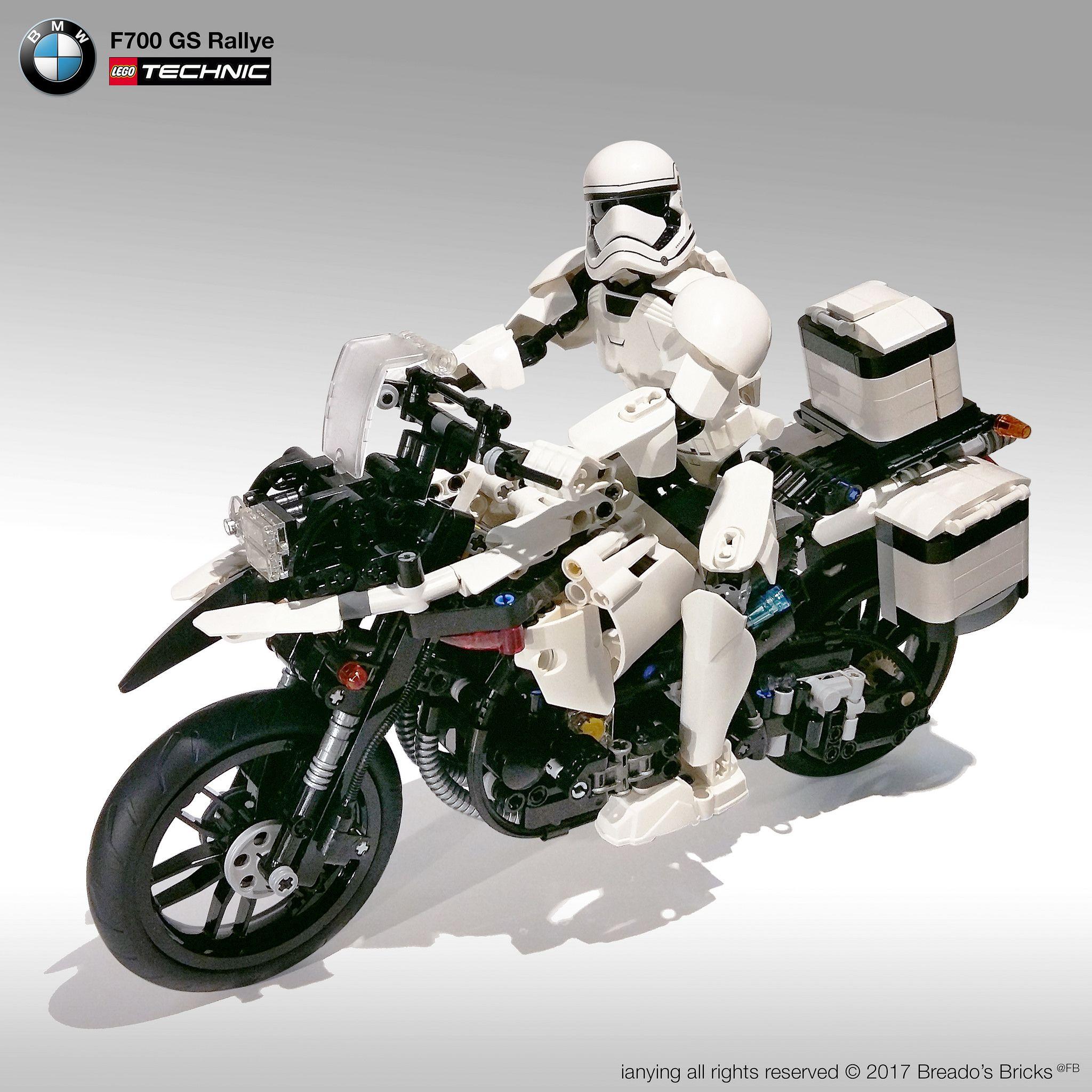 Trooper Bmw F700gs Rallye1 Bmw Trooper Cool Lego [ 2048 x 2048 Pixel ]