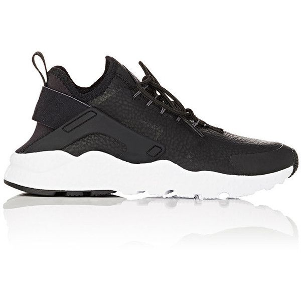 wholesale dealer 4f9c5 329a0 Nike Women s Women s Air Huarache Run Ultra Premium Sneakers ( 130) ❤ liked  on Polyvore featuring shoes, sneakers, black, low top, black sneakers, nike  ...