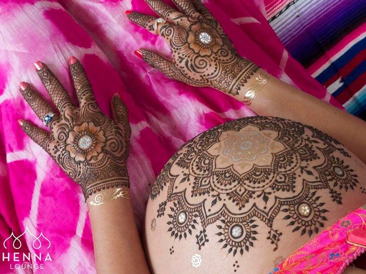 Mehndi For Baby : Dreaming in mehndi belly henna inspiration art hennas