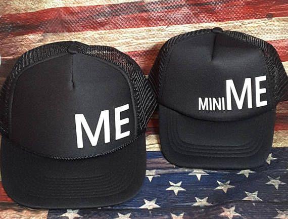 Me and mini Me Matching Hat Set f2212804603