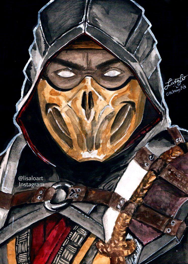 Scorpion Mortal Kombat By Liisalo Inspiracion Para Personaje