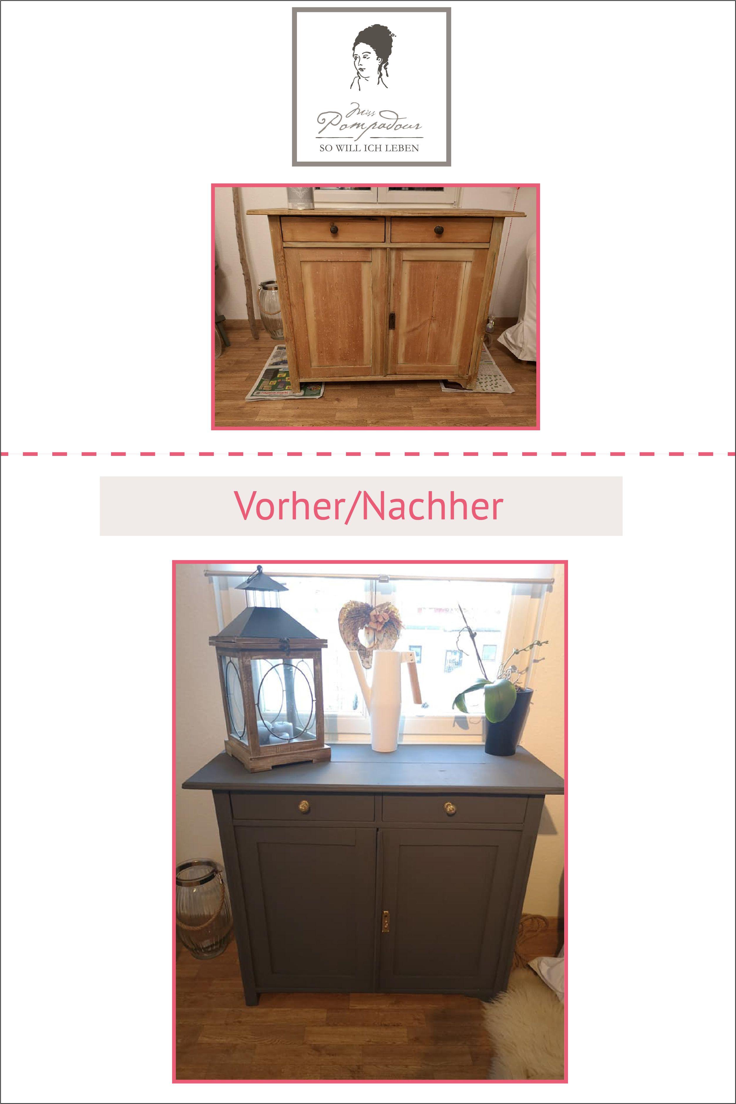 DIY Möbel streichen mit Kreidefarbe ohne Schleifen