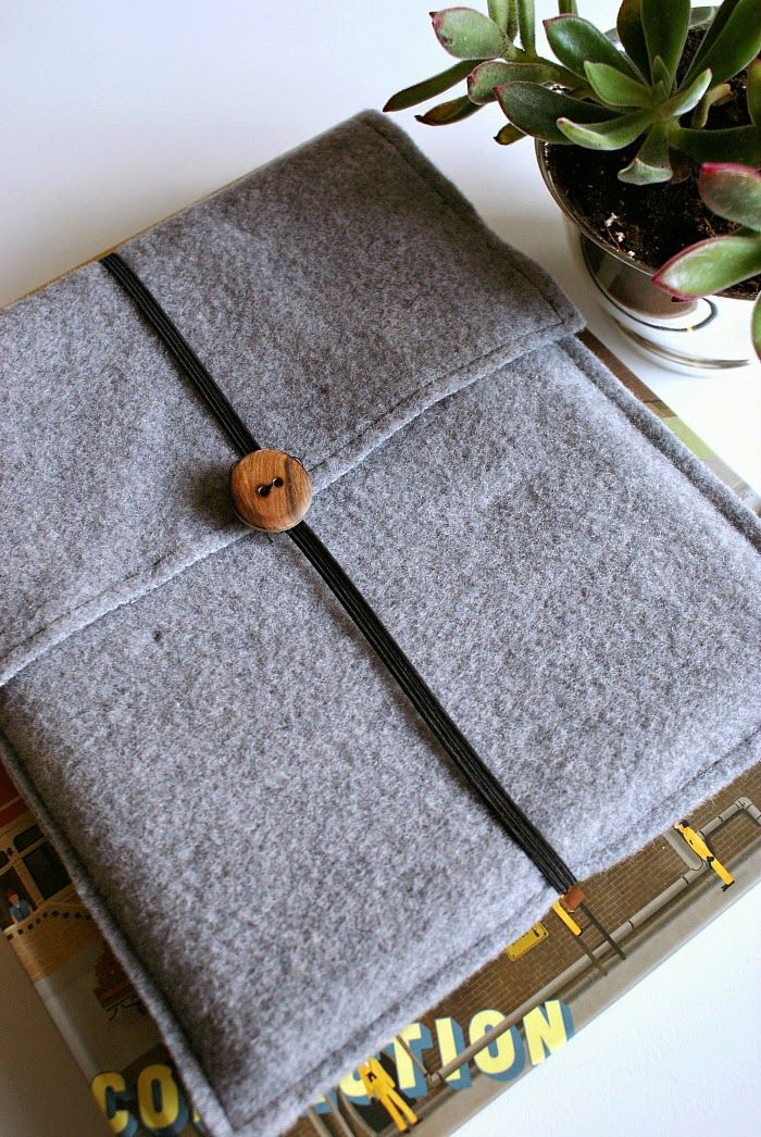 DIY felt iPad or Tablet Case Diy sewing projects, Easy