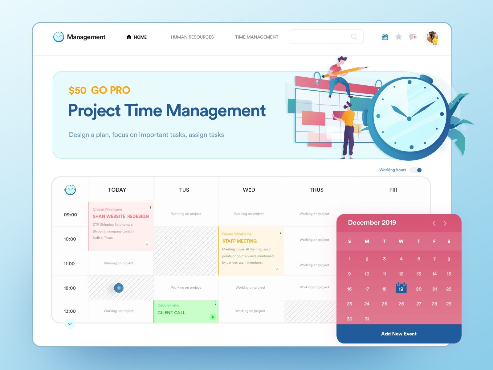 Project Time Management: Real Time Tracker by Master Creationz