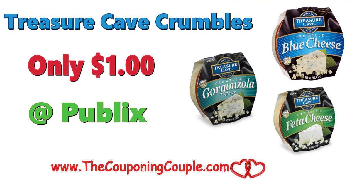 Treasure Cave Crumbles Only 1 00 Publix Publix Crumble Deal