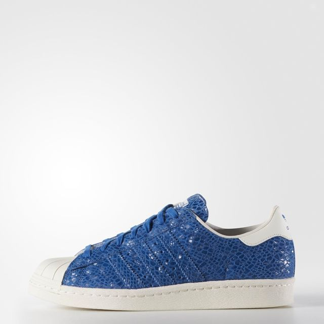 Conception innovante 4f416 6b9fc Chaussure Superstar 80s - bleu adidas | adidas France 120 ...