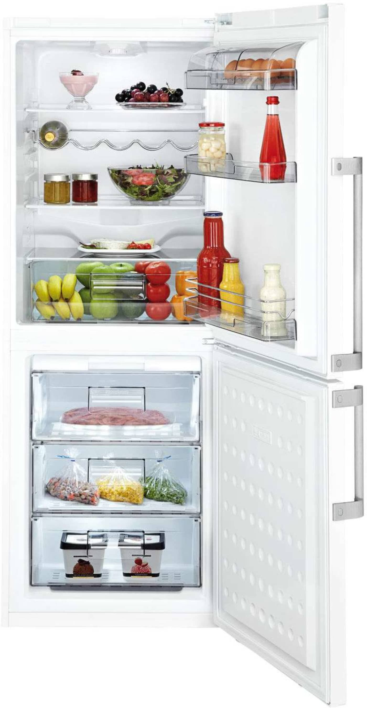 Brfb1044wh By Blomberg Bottom Freezer Refrigerators Goedekers Com Bottom Freezer Bottom Freezer Refrigerator Refrigerator