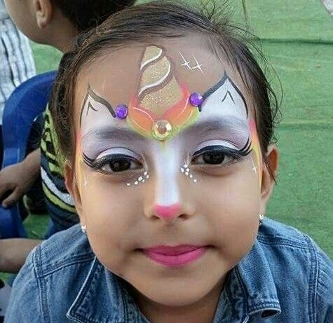 Unicorn Gemischt Bild Girl Face Painting Face Painting Unicorn Face Painting Halloween