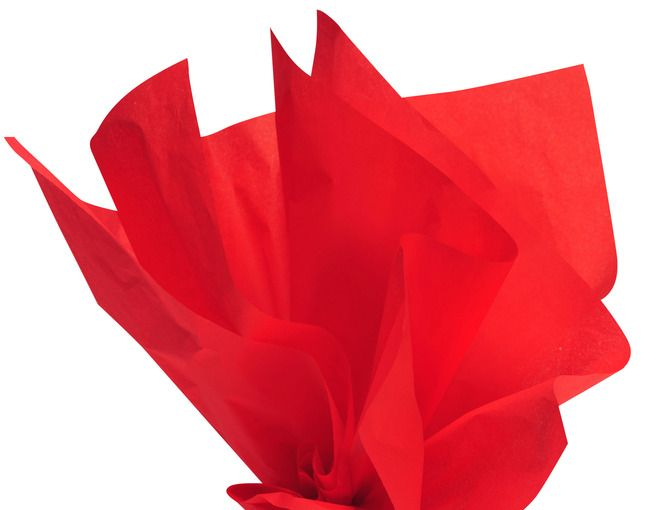 Nothing Says Happy Valentine S Day Like Brilliant Red Tissue Paper