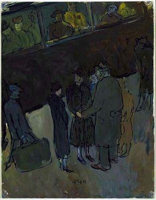 ¿Vida o teatro? La historia de Charlotte Salomon : Mandan a Charlotte al Sur de Francia para que allí se reuna con sus abuelos.