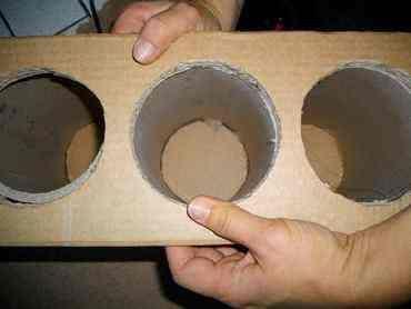 Comment fabriquer un range-bouteille en carton ? Range bouteille maison   Range bouteille ...